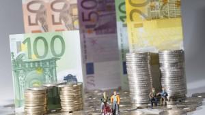 Mehr als die Hälfte der Deutschen zufrieden mit ihren Finanzen