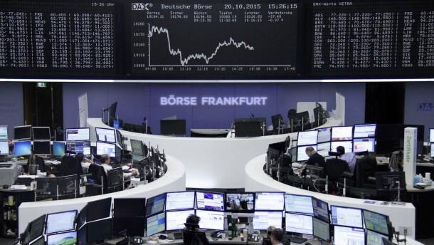 Europas Aktienanleger legen Verschnaufpause ein