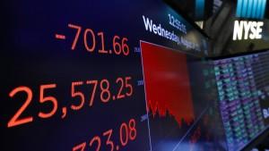 Die Nervosität an den Börsen steigt