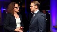 EZB-Direktoriumsmitglied Isabel Schnabel und Bundesbank-Präsident Jens Weidmann (vor der Coronakrise)