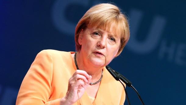 Merkel warnt vor Vertrauenskrise