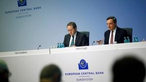 Zögerliche EZB enttäuscht Anleger
