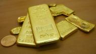 Gold gilt vielen noch immer als sicherer Hafen.