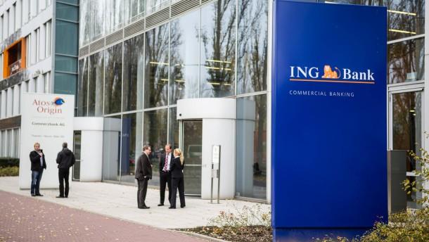 Anette Becker - die Frankfurterin macht noch mit 48 Jahren eine Ausbildung in der ING Diba  Bank.