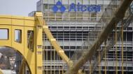 Der Aluminiumkonzern Alcoa aus Pittsburgh legte als erster seine Zahlen vor.