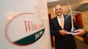Die Anleger von Windreich bangen um ihr Geld