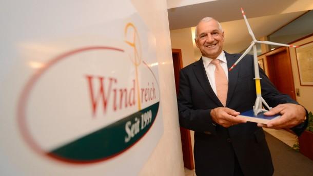 Windreich-Gründer Balz droht Privatinsolvenz
