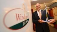 Windreich-Chef und Alleinaktionär Willi Balz zog sich aus der Unternehmensspitze zurück