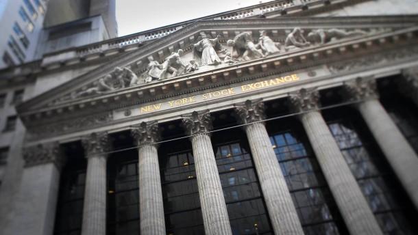 Kursverluste an der Wall Street