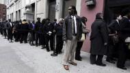 Schwacher amerikanischer Arbeitsmarkt nährt Zweifel an Zinswende