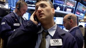 Die Risikoscheu der Anleger nimmt zu