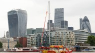 Die Rohstoff-Baisse lastet schwer auf dem Londoner Aktienmarkt