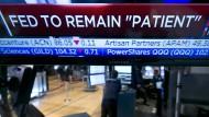 Amerikas Notenbank hält vorerst an niedrigem Leitzins fest