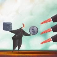 Offene Hände: Anleger erhoffen sich hohe Ausschüttungen