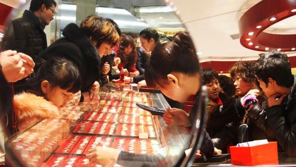 Goldnachfrage aus China ist ungebrochen