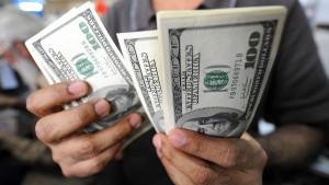 Der Dollar ist die Lieblingswährung der Korrupten
