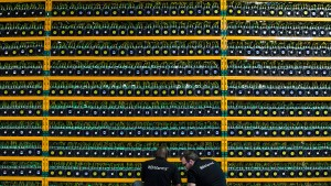 Der Krypto-Markt kommt nur langsam in Fahrt