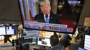 Wall Street reagiert positiv auf Patt im Kongress