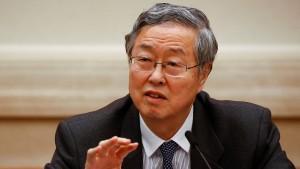 Chinas Notenbankchef warnt vor Einbruch an Finanzmärkten