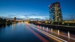 EZB-Programm hat Renditen um 1 Prozentpunkt gedrückt
