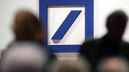 Darum fällt die Deutsche Bank immer weiter zurück