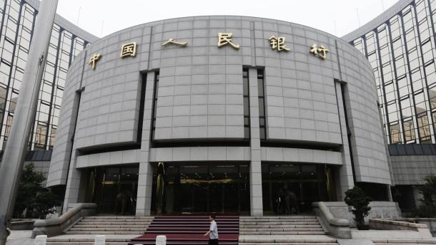 In China geht das Zittern weiter