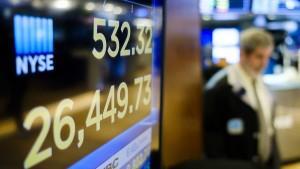 Wall Street erholt sich