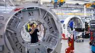 Fertigung eines Siemens-Computertomographen