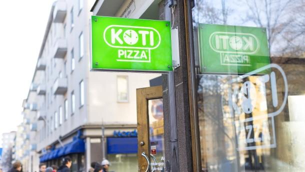 Die Rentier-Pizza ist Kotipizzas Renner