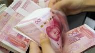 China setzt dem Druck auf den Yuan-Kurs derzeit nichts mehr entgegen.