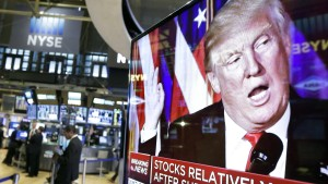 Die Wall Street sendet Warnsignale an Trump