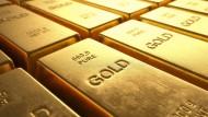 Goldbarren: Auf dem internationalen Markt derzeit eher weniger gefragt – trotz unsicherer politischer Lage.