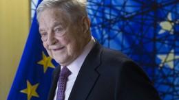 Soros baut die zweitgrößte Stiftung Amerikas
