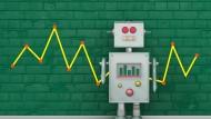 Neue Rolle in der Finanzwelt: Robo Advisor zu deutsch Roboter-Berater stellen das klassische Anlagegeschäft auf den Kopf.