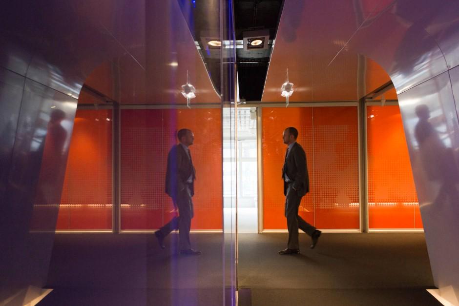 Büros im futuristischen Design: Bei Hochfrequenzhändlern sieht es aus wie bei Google oder Facebook