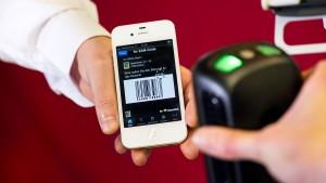 Das Mobiltelefon wird zur Geldbörse