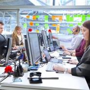 Fällt ihnen etwas Neues für die Lebensversicherung ein? Das Innovations-Team der Axa in Köln-Mühlheim bei der Arbeit