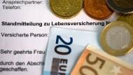 Der Niedrigzins erdrückt die deutsche Lebensversicherung: Wie wird also der Gewinn generiert?