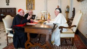 Mit brüderlicher Zuneigung für Kardinal Marx