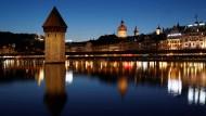 Blick auf die Altstadt von Luzern