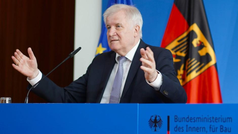 Bundesinnenminister Horst Seehofer dringt schon lange auf eine Reform des europäischen Asylsystems.