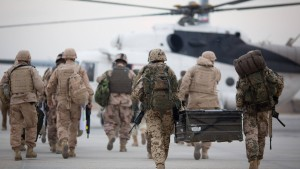 Nato will vor Abzug Fortschritte in Afghanistan sichern