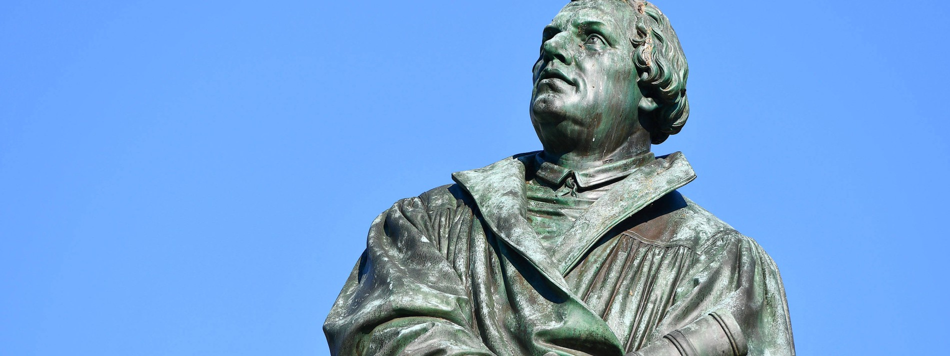 Gegen Corona ist selbst Martin Luther machtlos