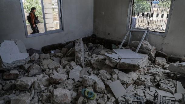 Die Furcht vor dem Fall Idlibs