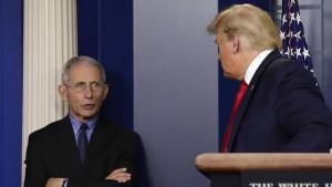 Warum Trump einen Rückzieher macht