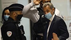Eine Welle der Solidarität für Sarkozy
