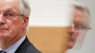 Michel Barnier am 23. Februar in Brüssel