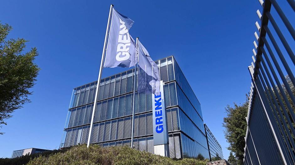 Der Firmensitz von Grenke in Baden-Baden