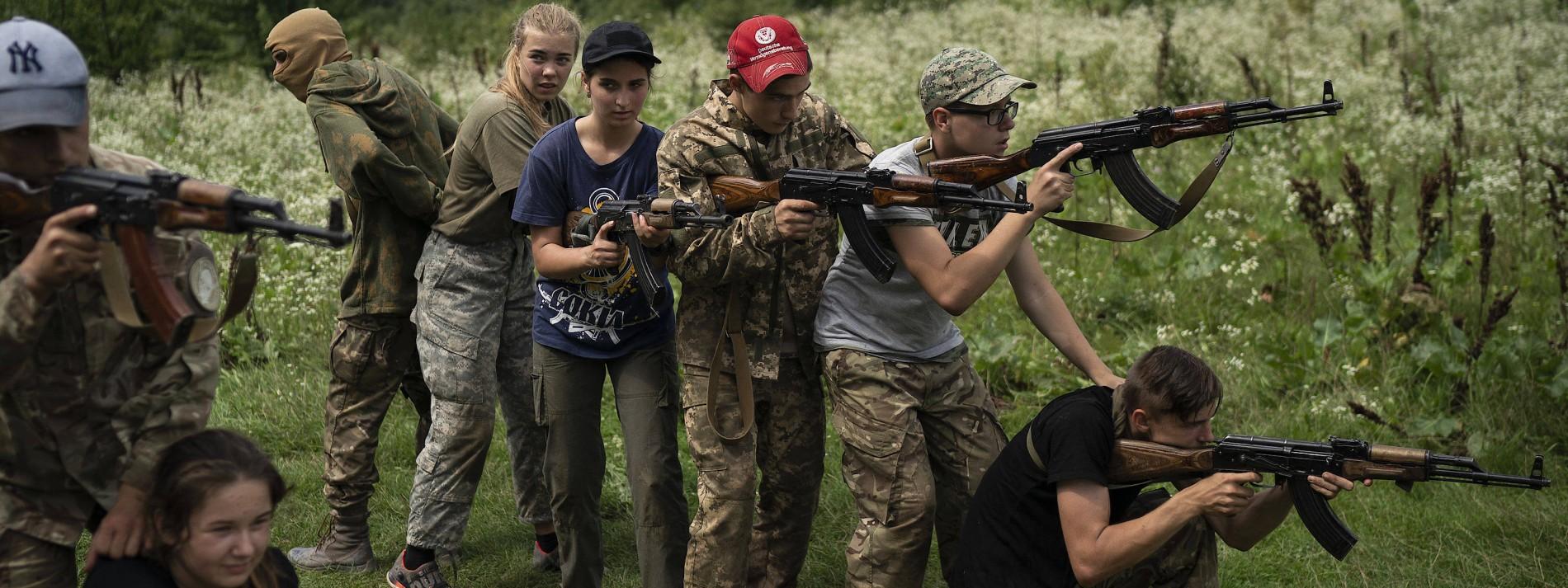 Sommerferien mit Sturmgewehr