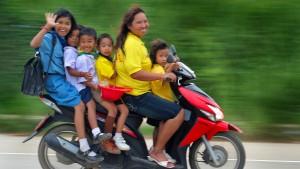 Thailand auf zwei Rädern